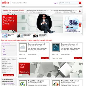 Fujitsu Business Solutions Store